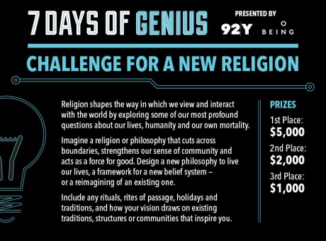 challenge-for-a-new-religion