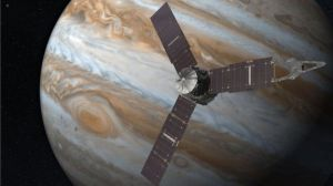 Juno image by NASA