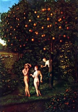 """The Fall of Man"" by Lucas Cranach the Elder"