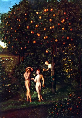 """The Fall of Man"" by Lucas Cranach the Elder"